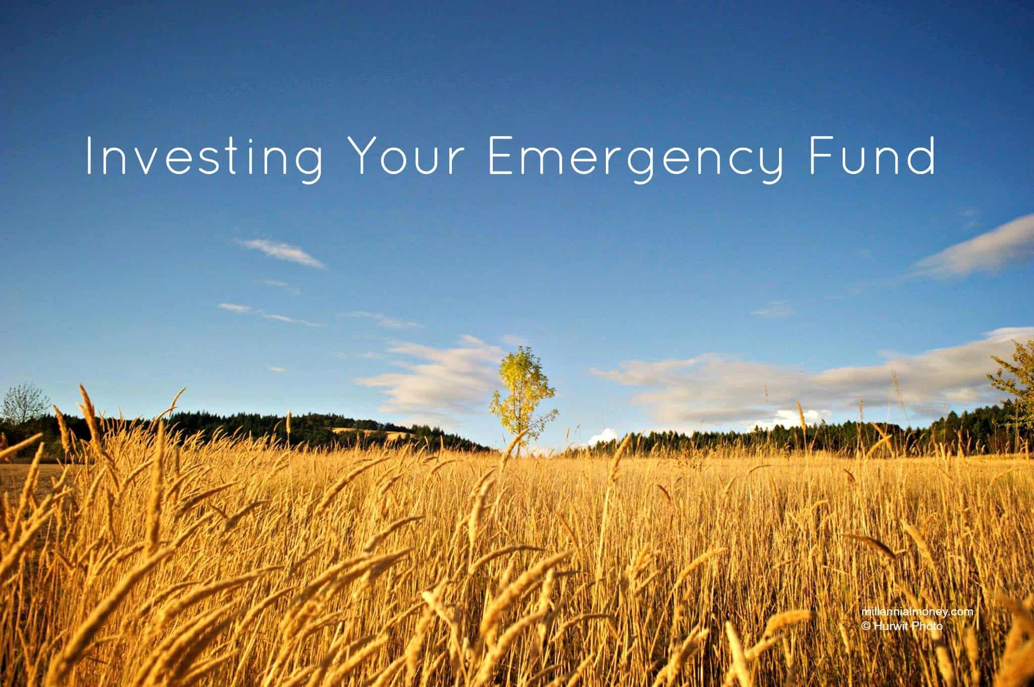 Investing Emergency Fund