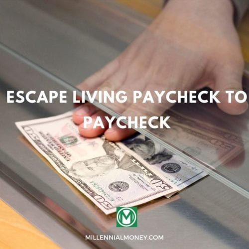 Escape Living Paycheck to Paycheck Featured Image