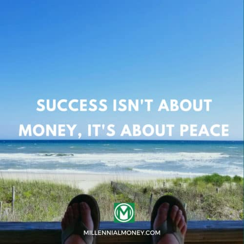Success Isn't About Money, It's About Peace Featured Image