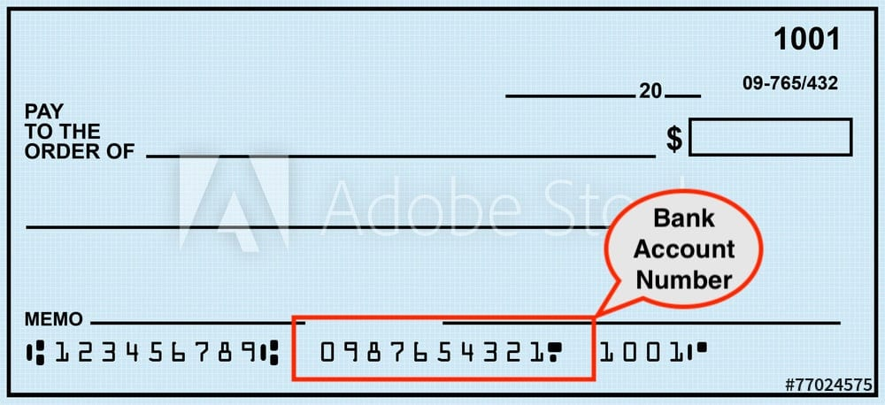 Chase Banking Account Number