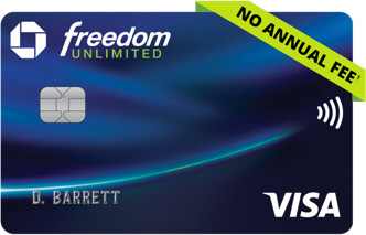 Chase Freedom Unlimited logo
