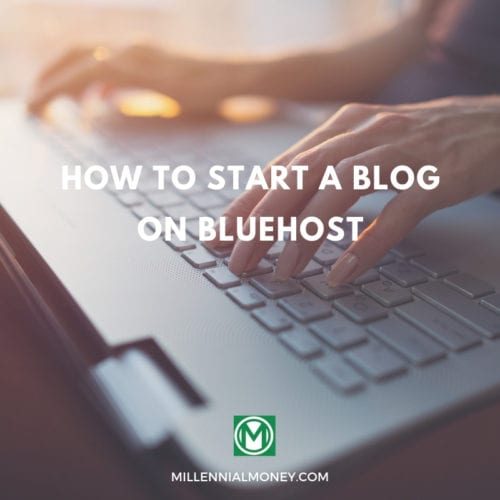 How to Start a Blog on Bluehost Featured Image