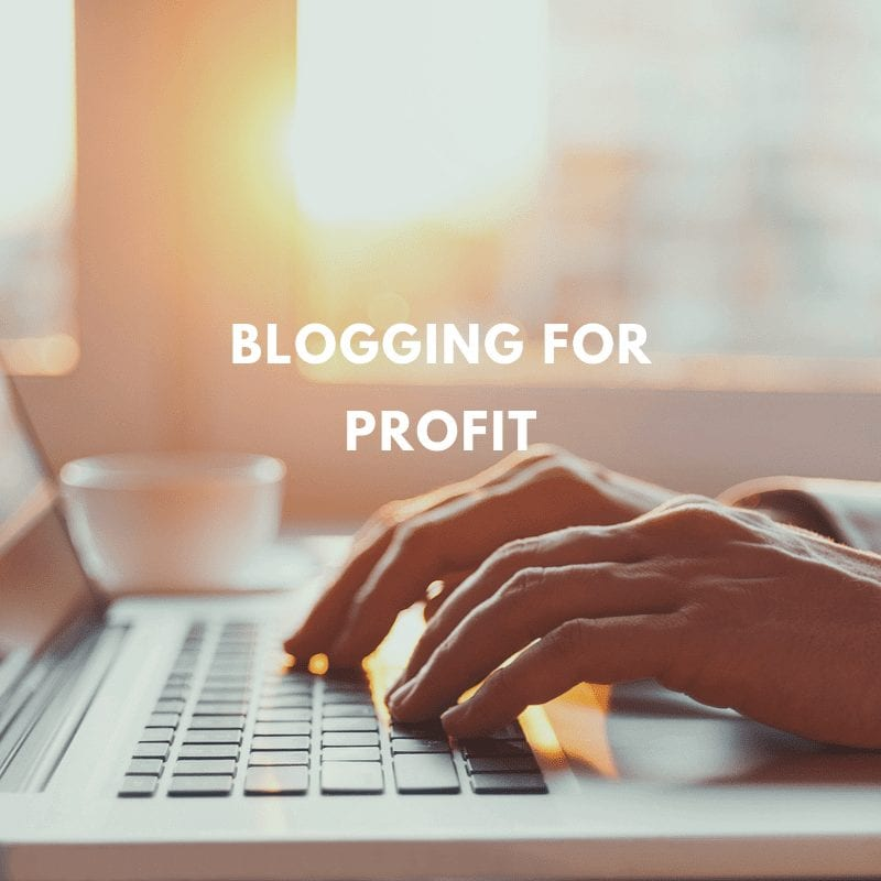 Blogging For Profit - Make Money Blogging in 90 Days or Less