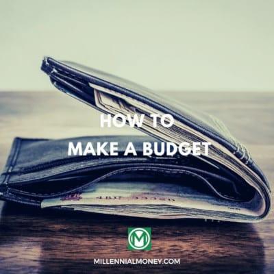 make a budget